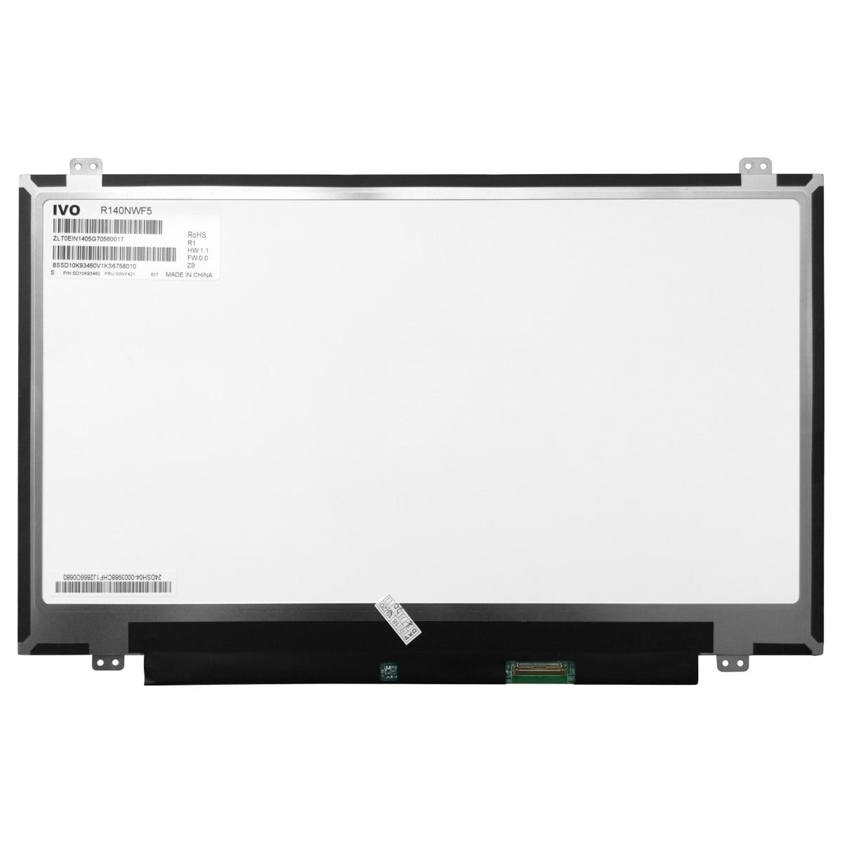 14,0 дюймовый IPS экран ноутбук с сенсорным экраном R140NWF5 R1/R6 для Lenovo Thinkpad T470S/T480S ЖК-дисплей светодиодный дисплей Fru 00UR895 P/NSD10M65528 40pinEDP