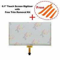 6.1 inch for Camry COROLLA touch screen Digitizer of LA061WQ1 with Trim Removal Kit