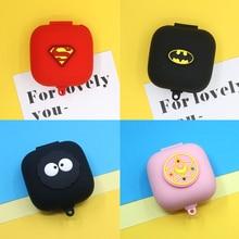 Cute Earphone Silicone Cover for Beats Powerbeats Pro Case Wireless Headphone Bag Bluetooth Earphone Accessories Anti shock Box