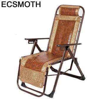 Sillón de sofá Moderno Plegable de bambú Plegable, sillón de Cama Moderno...