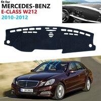 Capa de painel almofada protetora para mercedes benz e-class w212 acessórios do carro pára-sol tapete e-klasse e200 e250 e300 e220d amg