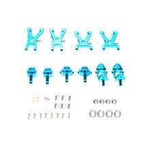 Yükseltme Metal süspansiyon kolu ve ön/arka Hub C koltuk parça kiti WL A959 A979 A959B A979B RC araba değiştirmeleri
