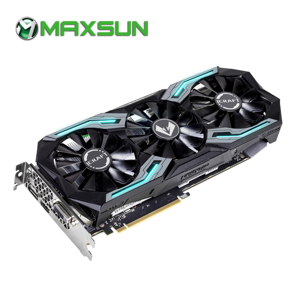 MAXSUN Graphic-Card GDDR6 Rtx 2060 192bit Gtx 960 Pc HDMI DP 6G DVI 14000mhz 1365mhz