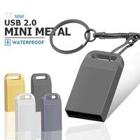 Memoria usb 2.0 Mini USB Flash Drive 16GB 32GB 64GB Pen Drive Memory Stick U Disk 16 32 64 8 4gb Pendrive piccolo regalo