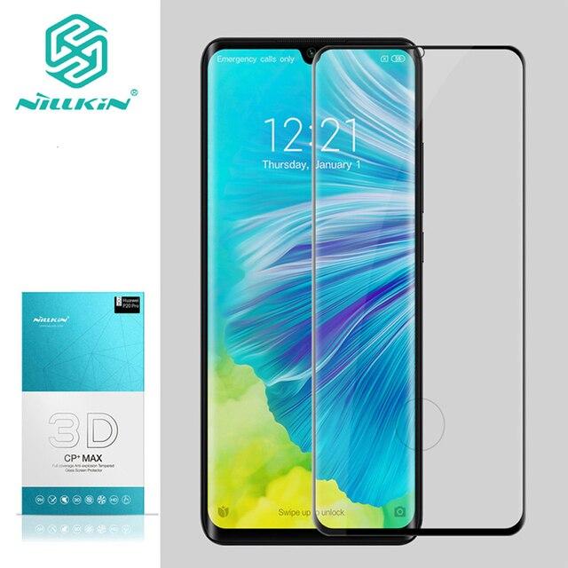 Dla Xiaomi Mi CC9 Pro szkło ochronne NILLKIN 3D CP + MAX szkło hartowane przeciwwybuchowe dla Mi uwaga 10/uwaga 10 Pro