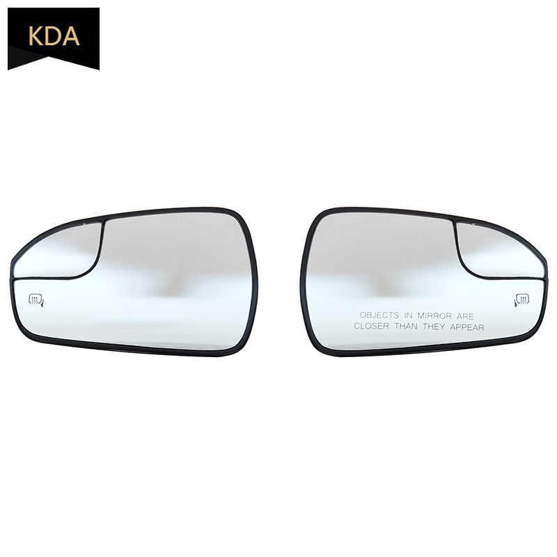 Cristal espejo de ala izquierda del lado del pasajero para Smart Fortwo Forfour 2014-2020 Placa