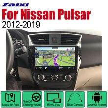 ZaiXi Android Car GPS Navi for Nissan Pulsar 2012~2019 player Navigation WiFi Bluetooth Mulitmedia system audio stereo EQ