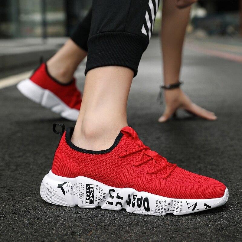 Męskie sandały oddychające siatkowe trampki obuwie 2019 nowe letnie jasne modne męskie obuwie Sandalias De Hombre męskie buty