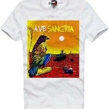 Camiseta ave sangria brasileira psicodélico rock peyote lsd ayahuasca 5335