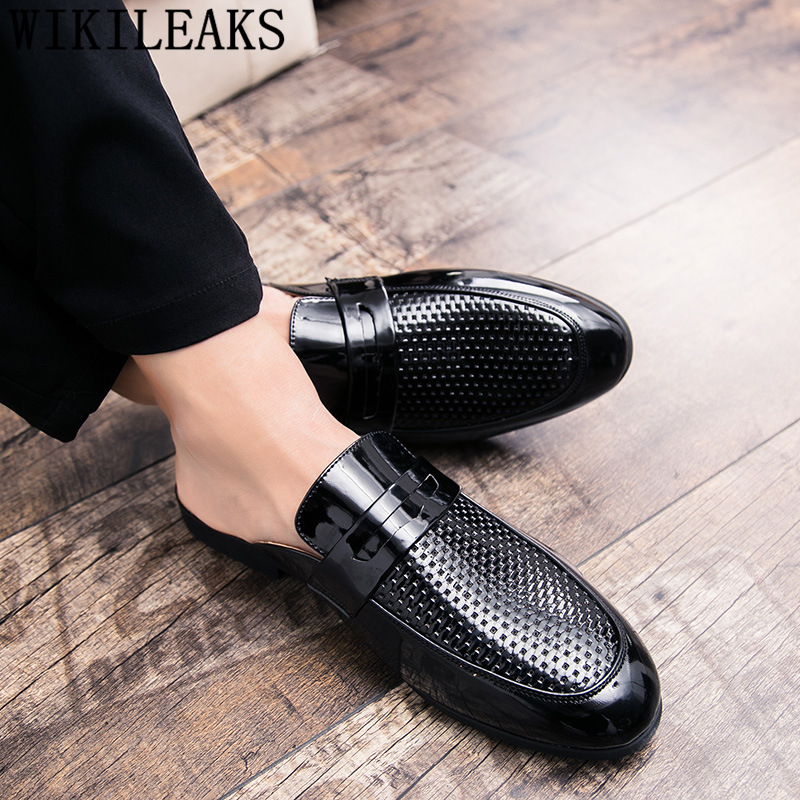 mens leather mules sale
