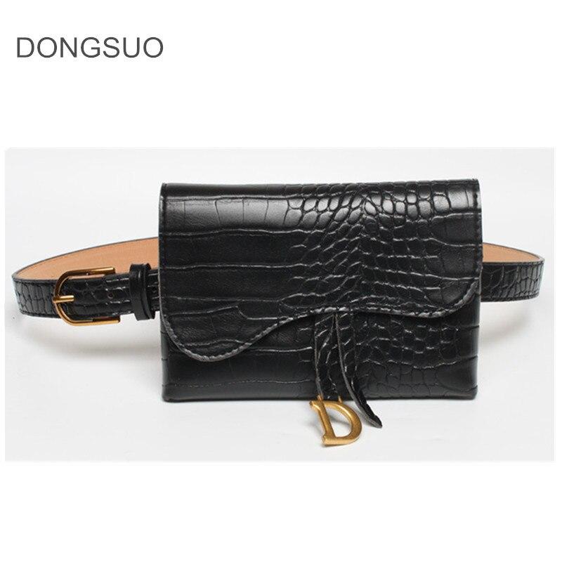 Waist Bag Belt Bag Bucket Fanny Pack Animal Print Serpentine Small Bag Women Girls Ins Fashion 2020 New Drop Shipping