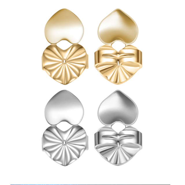 Earring Backs Support Butterfly Earring Lifts Fits all Post Earrings Set Gold Color Silver Color Earrings.png 640x640 - Earring Backs Support Butterfly Earring Lifts Fits all Post Earrings Set Gold Color Silver Color Earrings Jewelry Accessories