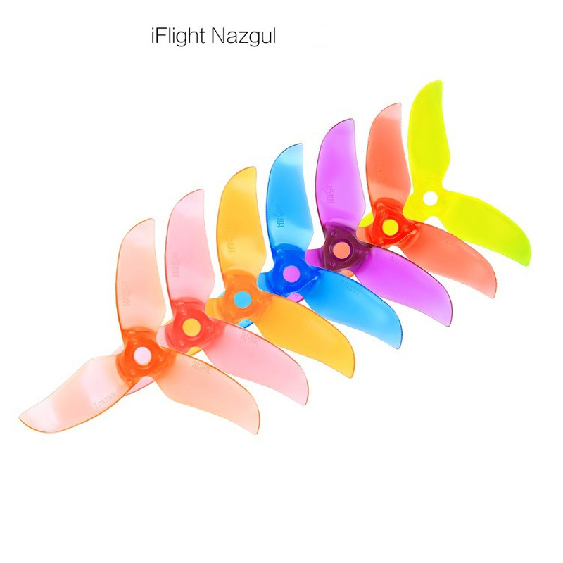 10Pair 20PCS IFlight Nazgul T3061 3061 3 Inch PC 3-blade RC Drone FPV Racing Propeller 5mm Mounting Hole Brushless Motor