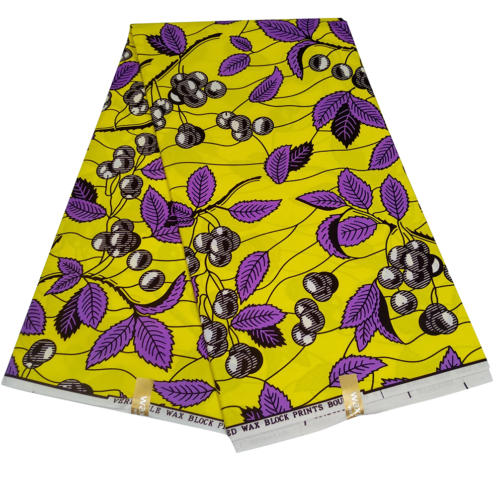 Ankara African Wax Fabric High Quality Sewing  New Nederlands Fabric For Women Dress Z615