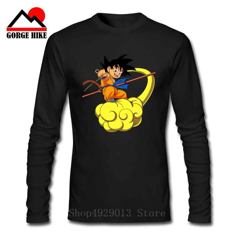 2019 3D dragon ball Футболка супер сайян dragon ball Z Dbz Son футболка «Goku» Япония Вегета Аниме Мужская с длинным рукавом/Мальчик топы Футболка