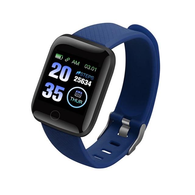 116Plus Smart Watch Bluetooth Wristband Sports Fitness Health Monitor Call Message Reminder Pedometer D13 Smart Watch 1
