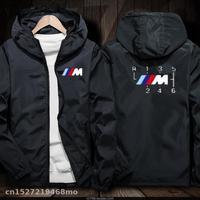 Motorcycle Jacket Windproof for bmw Jacket Mobike Riding Hooded Suit Windbreaker Racing zipper Coat