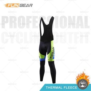 Pantalones con tirantes de Ciclismo medias largas Tinkoff para hombre, pantalones de...