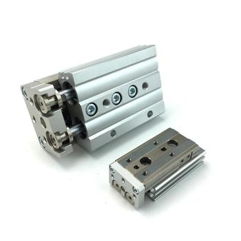 MXQ6-10/20/30/40/50 MXQ6-10A/20A/30A/40A/50A MXQ6-10B/20B/30B/40B/50B CRFP YIYUN Pneumatic cylinder Air Slide Table MXQ Series image