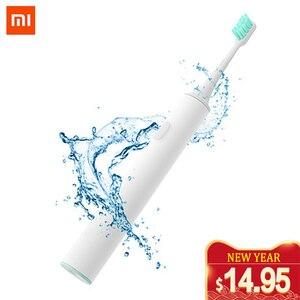 Image 1 - Mijia Sonic Electric Toothbrush Rechargeable Waterproof USB Wireless Charging Mi APP Control Smart Tooth Brush Ultrasonic