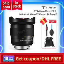 TTArtisan 11mm f2, 8 obiektyw typu rybie oko do aparatów Leica L takich jak Leica T Leica TL Leica TL2 Leica cl-czarny