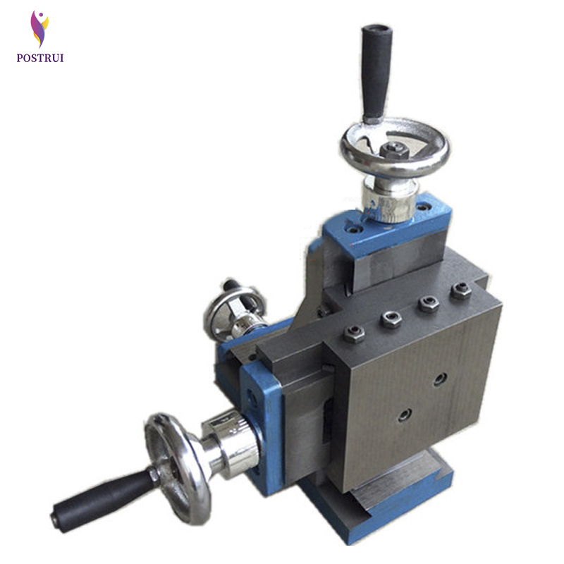 75-type Vertical Universal Cross Slide Table Dovetail Slot Carriage Three Coordinate Drilling Milling Accessories Woodworking