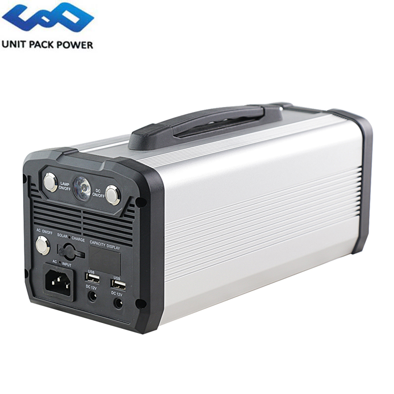 UPP 300W 60Ah Lithium Emergency Battery Portable Power Station 222Wh For Camping/Outdoor AC/Car/Solar Recharge 12V Jump Starter