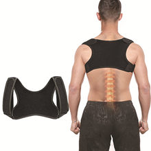 Voltar ajustável postura corrector cinto clavícula coluna masculino feminino local de trabalho ao ar livre superior costas ombro postura lombar correção