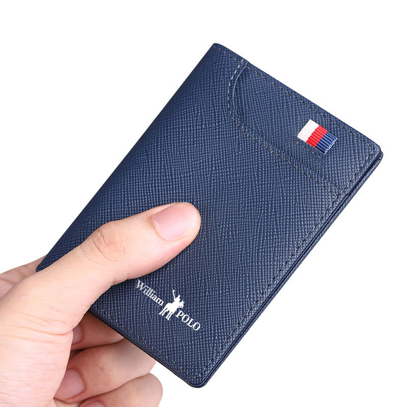 Williampolo Genuine Leather Men's Wallets Thin Male Wallet Card Holder Cowskin Soft Mini Purses New Design Men Short Slim Wallet Men Men's Bags Men's Wallets cb5feb1b7314637725a2e7: black elegant|Black Standard|blue elegant|blue standard|coffe standard