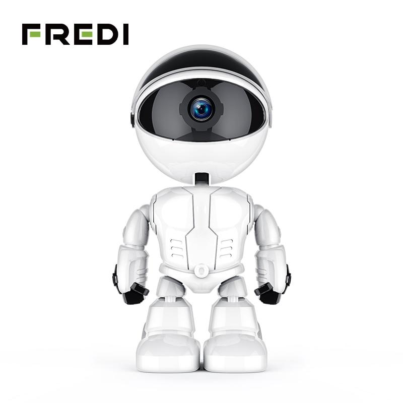 FREDI 1080P Cloud Home Security IP Camera Robot Intelligent Auto Tracking Camera Wireless WiFi CCTV Camera Innrech Market.com