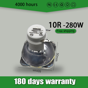 Free shipping 10R 280W Metal Halide Lamp moving 280 beam 280 SIRIUS HRI280W For compatible Replacement Osram Made In China free shipping 1pc bergeon 30226a watch oil dip oiler stand made in china