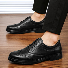 Płaskie wiosna sapato na skórzane sapatos 2020 mężczyźni dla człowieka sportowe wygodne męskie męskie buty męskie hot moda luźne mokasyny para tanie tanio Kalorzze Prawdziwej skóry RUBBER 2069 Lace-up Pasuje prawda na wymiar weź swój normalny rozmiar Oksfordzie Stałe Dla dorosłych