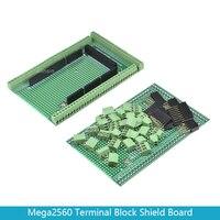 Doppel-side PCB Prototyp Schraube Terminal Block Schild Board Kit Für arduino MEGA-2560 Mega 2560 R3 Mega2560 R3