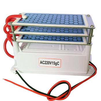 Strona główna Generator ozonu 220V 15g oczyszczacz powietrza Ozonizador Ozonator filtr powietrza ceramiczne 5g Ozon maszyna ozonizator sterylizacji tanie i dobre opinie RAINOPO 50m³ h CN (pochodzenie) 110 w 220 v 15G H 31-40 ㎡ Przenośne 96 20 Ac Źródło 99 00 ≤50dB 1000000 sztuk m³
