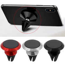 360 Degree Rotation Magnetic Car Holder Air Vent Mount For Mobile Phone GPS Magnet Cell Phone Stand Holder for iPhone 7 8 plus цены