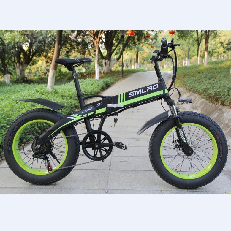 S9F 1000W Bafang Motor 14AH $amsung Battery 20 inch Fat Bike European Quality Level Foldable Electric Bicycle E Bike 2