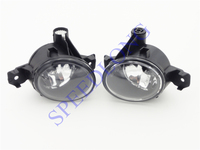 2 Pcs/Pair without bulbs front bumper driving fog lights lamps for BMW X5 E70 2007 2010