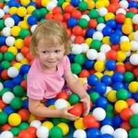 400 Pcs/Lot Plastic Balls Eco Friendly Colorful Ball Soft Swim Pits Toys For Children Beach Ball Water Pool Ocean Wave Balls