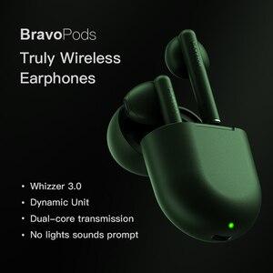 Image 3 - 원래 Whizzer B7 наушники TWS 이어폰 무선 음성 제어 블루투스 5.0 소음 감소 탭 제어 блютуз наушники