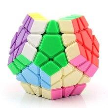 Yongjun ядро стандарт пять магических кубиков Цвет Гладкий студентов детей начинающих 12 поверхность специальной формы Tiggo пять магических кубиков