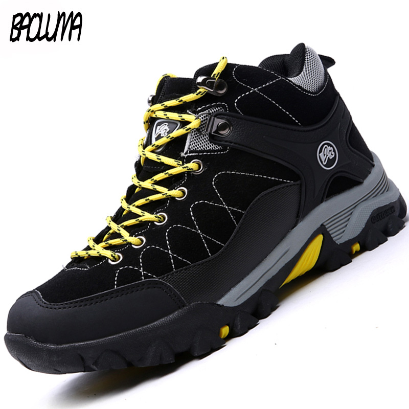 Winter Men Snow Boots 2019 Male Warm Snow Boots Ankle Men Winter Boots Work Shoes Men Footwear Rubber Ankle Shoes 39-46