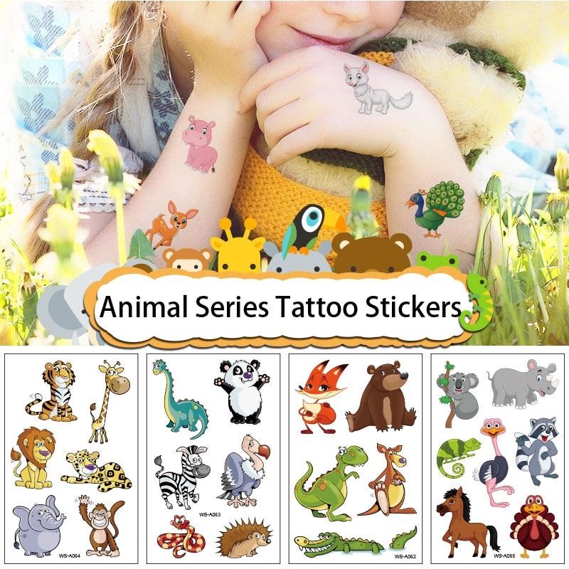 1 шт., временная татуировка-наклейка для детей