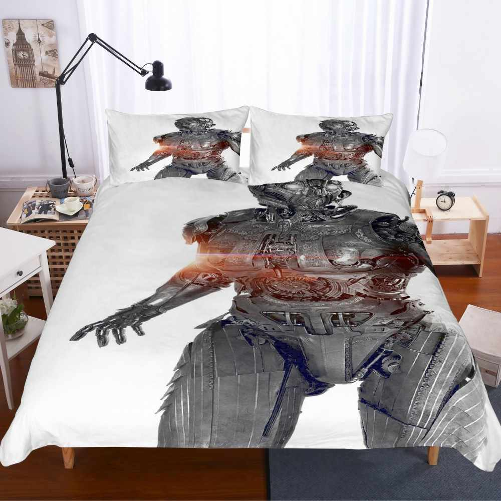 Movies Series 3D Print Character Microfiber Bed Linen Set Twin Full Queen King Duvet Cover Set Bedding Set 2/3pcs Bedclothes