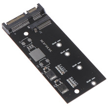 1 conjunto de alta eficiência m.2 nvme ssd converter adaptador cartão nvme/ahci ssd kit atualizado para sata revisão i/ii/iii (1.5/3.0/6.0 gbps)