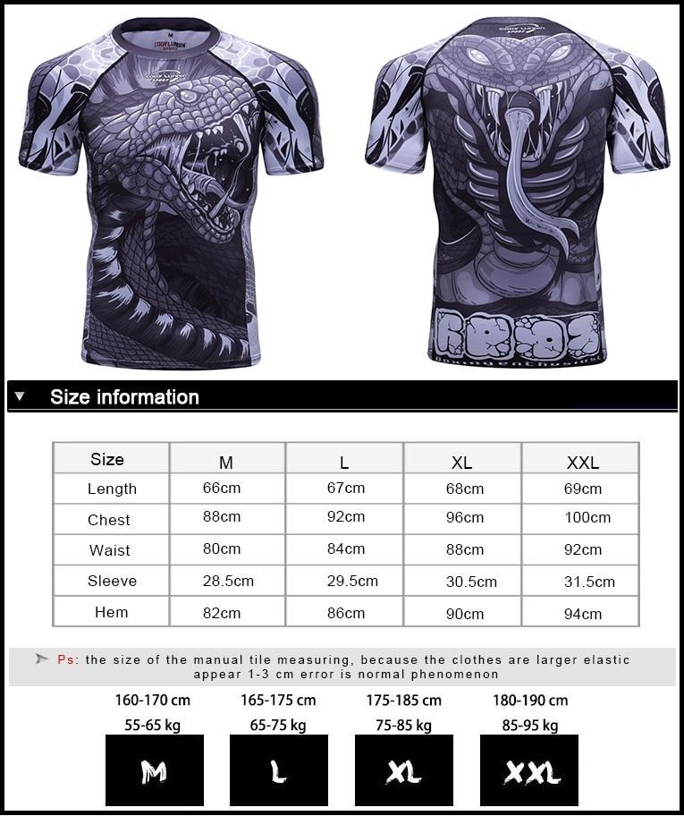 Clothing - Tshirt+broek MMA Boxing Muay Thai