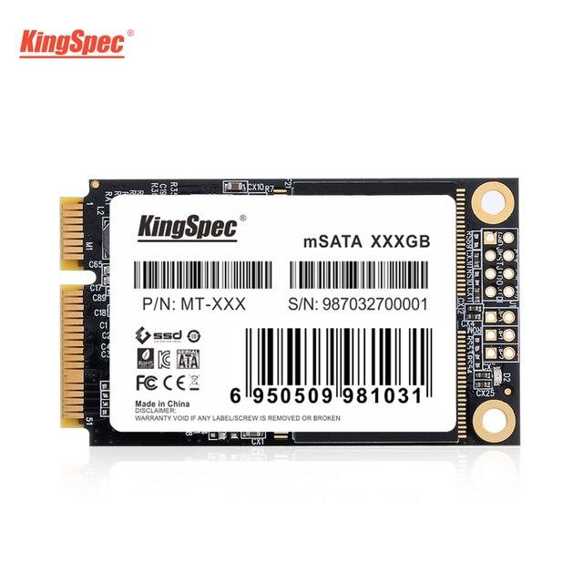 KingSpec mSATA SSD 120gb 240gb 512GB mSATA SSD 1TB 2TB HDD For computer 3x5cm Internal Solid State hard Drive for hp laptop 6