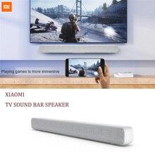 Orijinal Xiaomi Bluetooth TV ses çubuğu kablosuz hoparlör Soundbar destek optik SPDIF AUX ev sineması