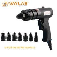 Pneumatic Air Rivet Nut Gun Tool Insert Thread Pull Setter Riveting Nuts Tool for M3 M4 M5 M6 M8 M10 M12 Nuts