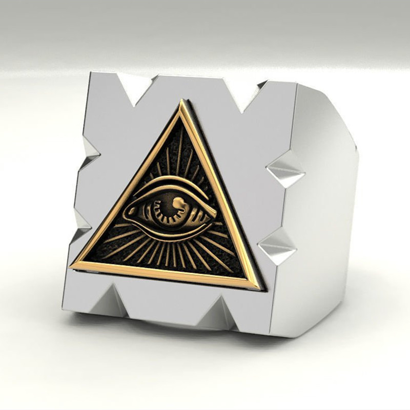 Masonic Ring Triangle