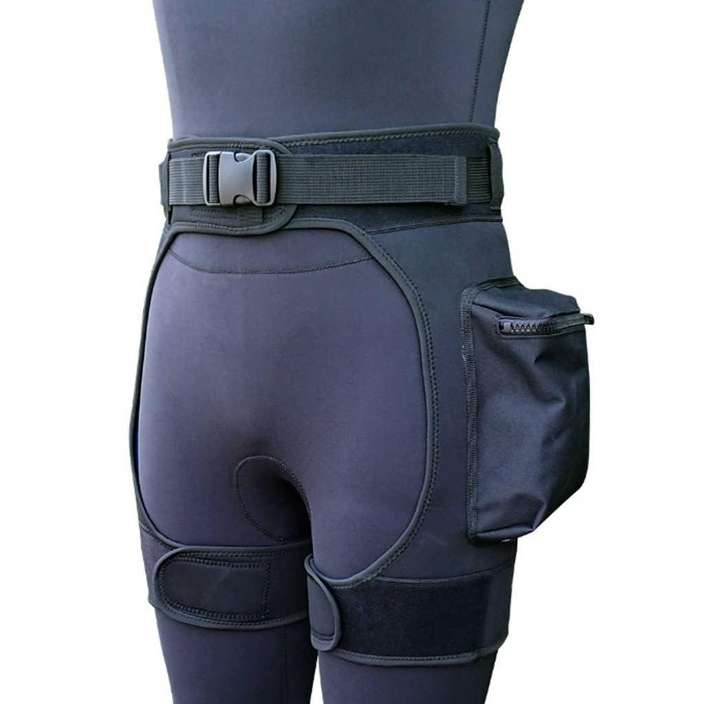 Erkek Wetsuit kısa pantolon streç şort cepler ve hızlı bırakma toka ayarlanabilir bel kemeri yüzme dalış şort